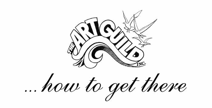 How to get to Treasure Island Artguild meeting locations